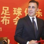 Fabio Cannavaro como entrenador del Guangzhou