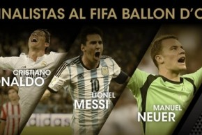 Los nominados al FIFA Ballon d'Or 2014