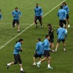 Entrenamiento FC Barcelona